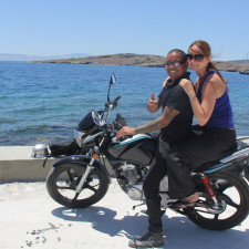 Bodrum, Turkey with Jess