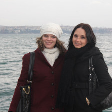 Exploring the Istanbul waterfront with Abby and Jess
