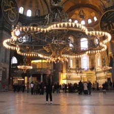 Inside the Hagia Sofia - Istanbul