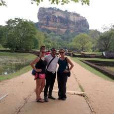 Sigiriya, Sri Lanka, with Abby and Jess